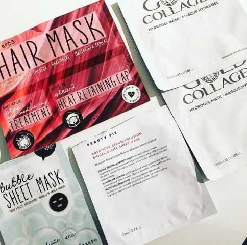 March Empties Hair Mask Sheet masks