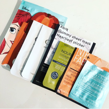 june 2018 sheet masks