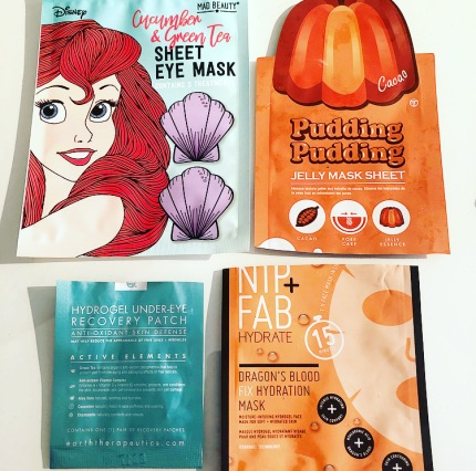 tony moly sheet mask, nip fab sheet mask