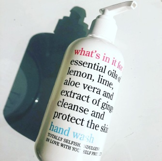 whats in it for me hand wash