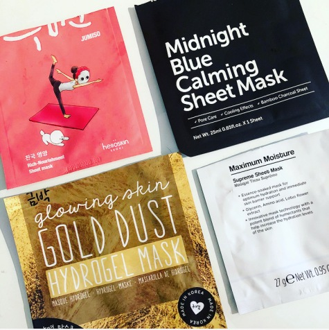 October sheet mask oh k moisture